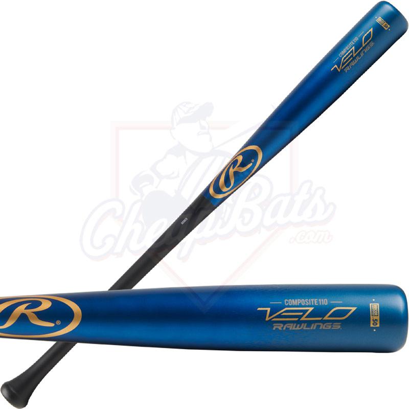 b73302a5c96 Rawlings Velo Wood Composite BBCOR Baseball Bat -3oz R110CR