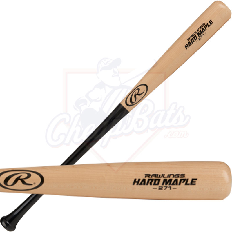 Rawlings Adirondack 271 Hard Maple Wood Baseball Bat