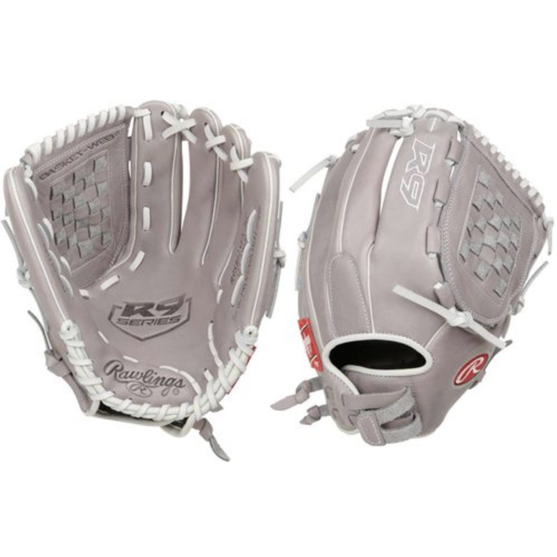 "Rawlings R9 Series Fastpitch Softball Glove 12.5"" R9SB125FS-3G"