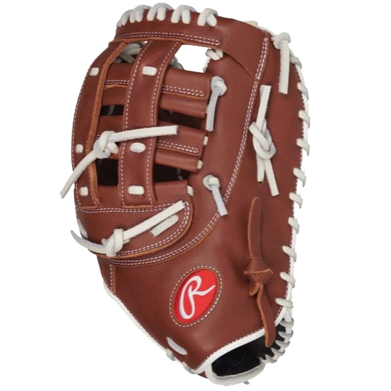 "Rawlings R9 Series Fastpitch Softball First Base Mitt 12.5"" R9SBFBM-17DB"