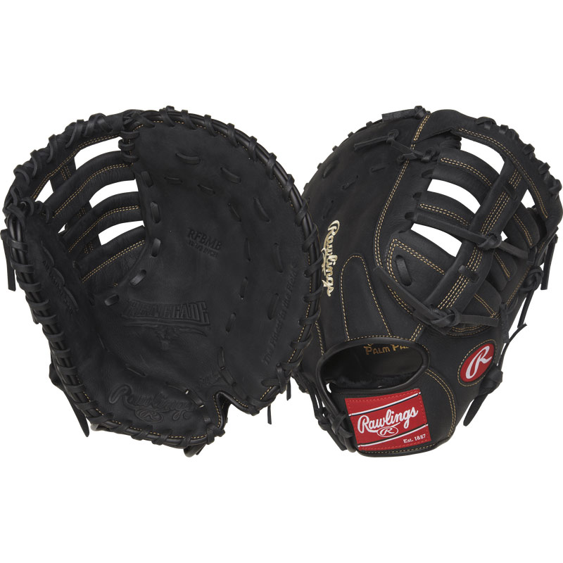 "Rawlings Renegade Slowpitch Softball First Base Mitt 12.5"" RFBMB"