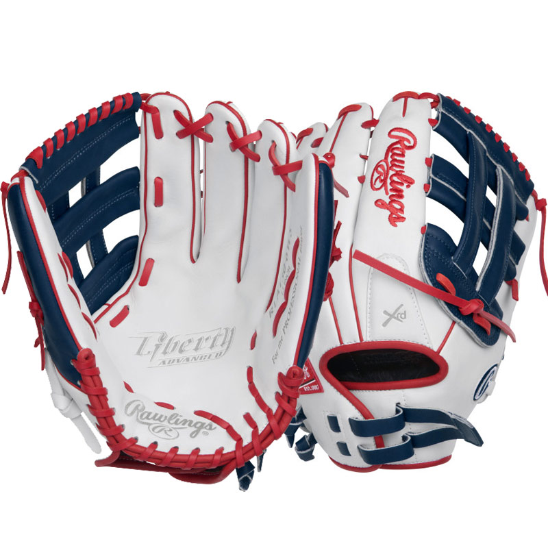 "Rawlings Liberty Advanced Color Series Fastpitch Softball Glove 13"" RLA130-6WNS"