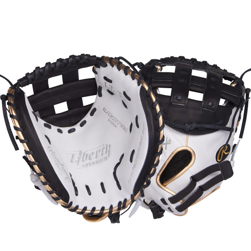 "Rawlings Liberty Advanced Color Series Fastpitch Softball Catcher\'s Mitt 33"" RLACM33FPWBG"