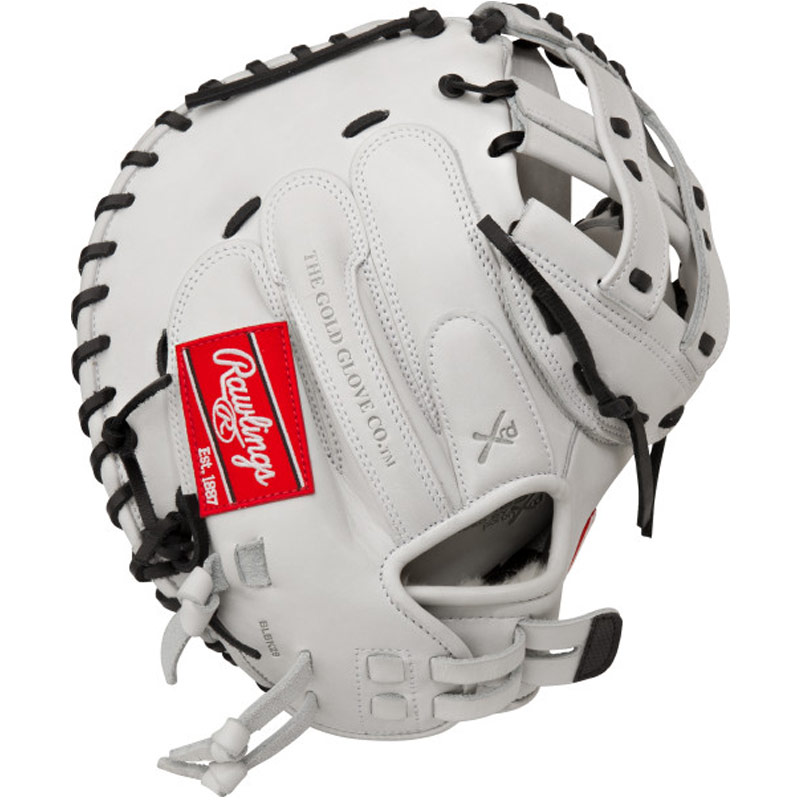 "Rawlings Liberty Advanced Fastpitch Softball Catcher\'s Mitt 34"" RLACM34"