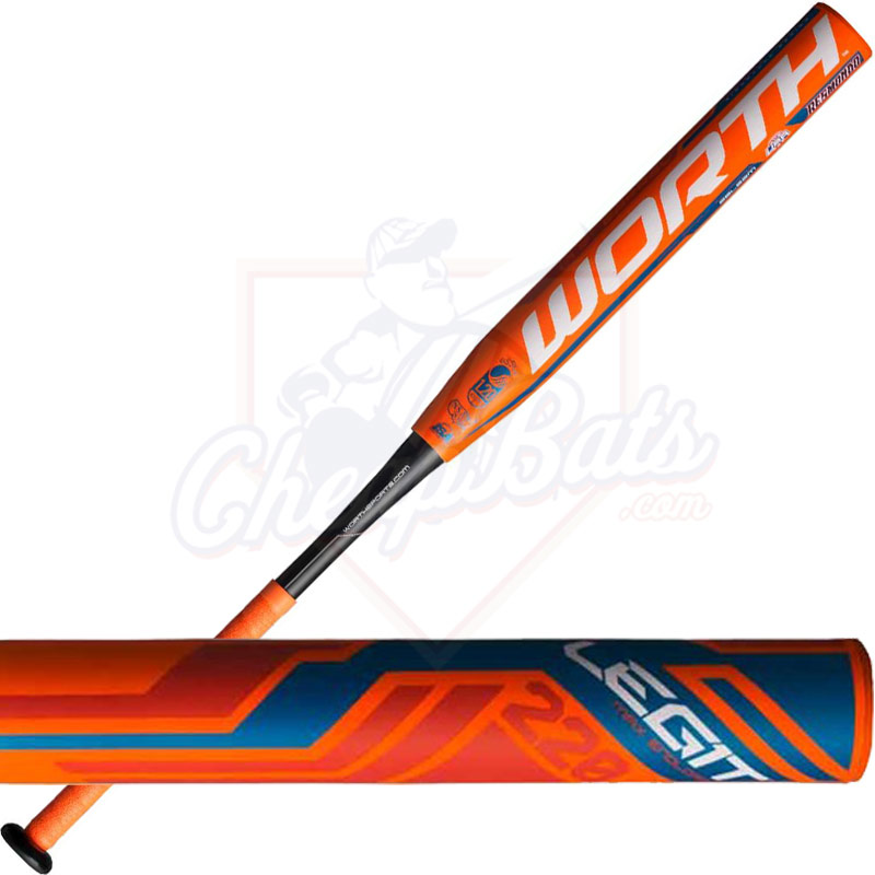 2016 Worth Resmondo Legit 220 Slowpitch Softball Bat