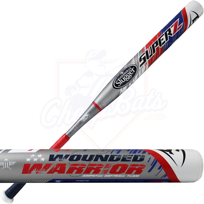 2016 Louisville Slugger SUPER Z WOUNDED WARRIOR Slowpitch Softball Bat Balanced USSSA SBWZ16U-B