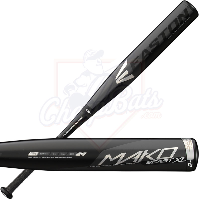 2017 Easton Mako Beast XL Youth Big Barrel Baseball Bat -8oz SL17MK8