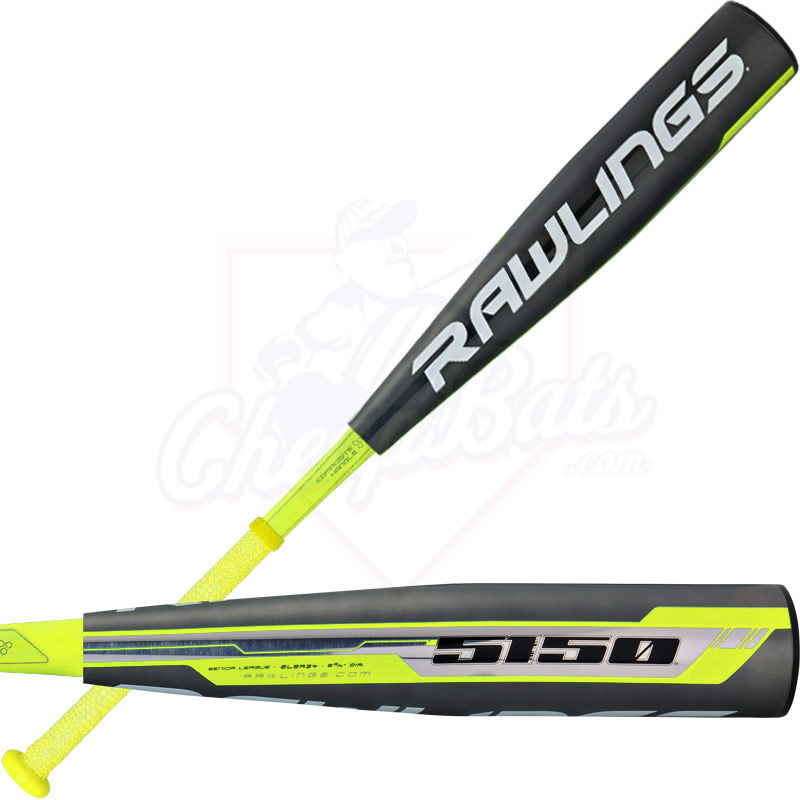 "2016 Rawlings 5150 Youth Big Barrel Baseball Bat 2 3/4"" -10oz SL5R34"