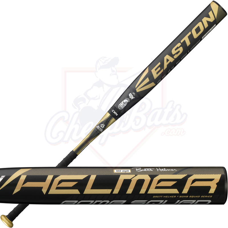2016 Easton Bomb Squad Brett Helmer Slowpitch Softball Bat USSSA End Loaded SP16BHU