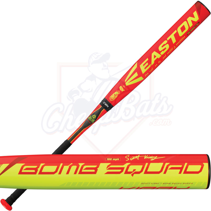 2016 Easton Bomb Squad Scott Kirby Slowpitch Softball Bat USSSA End Loaded SP16SKU