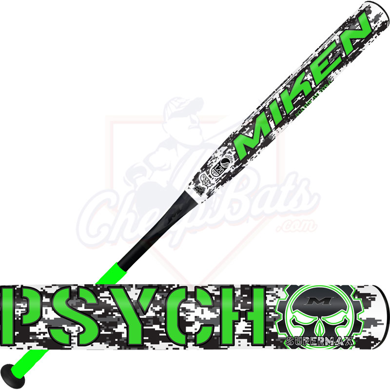 2017 Miken Psycho Slowpitch Softball Bat USSSA Supermax SYKDTE