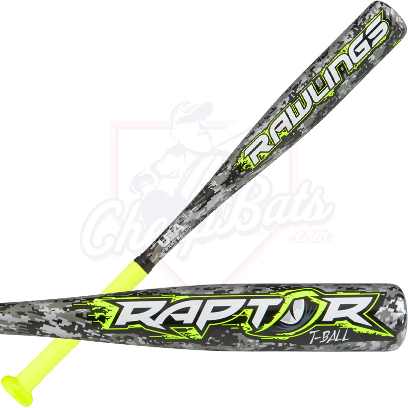 2018 Rawlings Raptor Youth USA Tee Ball Bat -12oz TB8R12