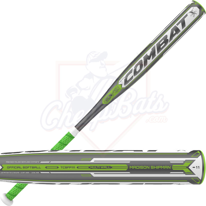 2016 Combat Madison Shipman Multi-Wall Fastpitch Softball Bat -11oz TCSFP111