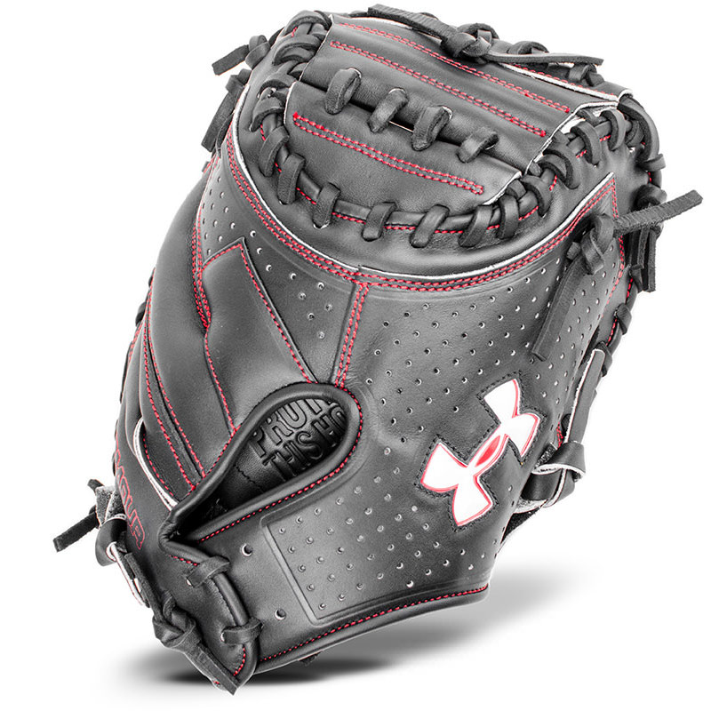 "Under Armour Deception Baseball Catcher\'s Mitt 33.5"" UACM-200A"