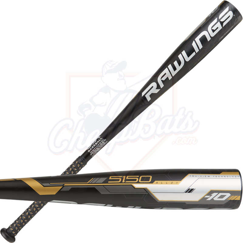 CLOSEOUT 2018 Rawlings 5150 Youth USA Baseball Bat -10oz US8510