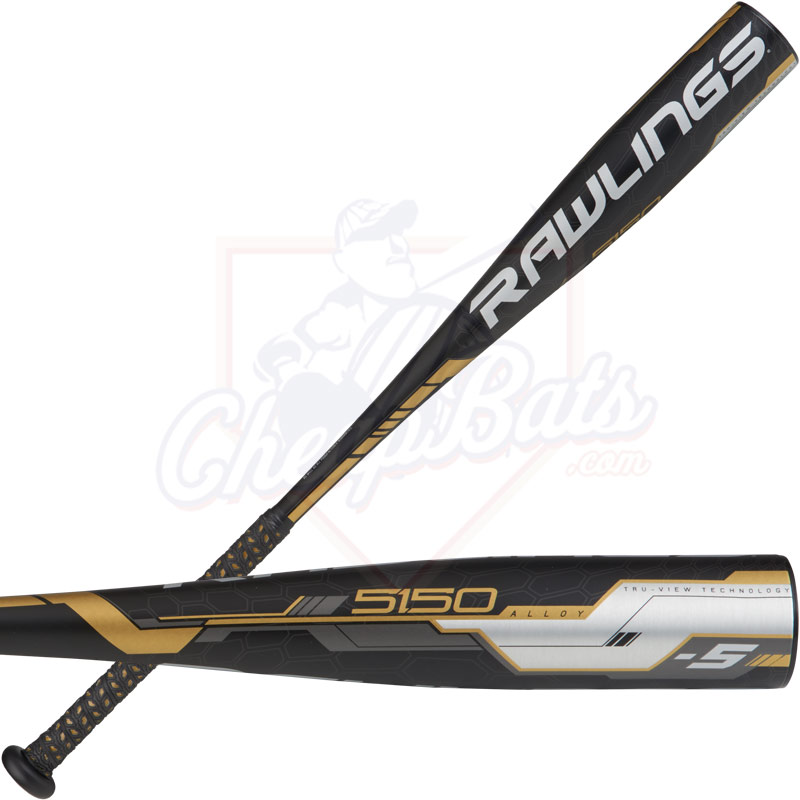 2018 Rawlings 5150 Youth USA Baseball Bat -5oz US855