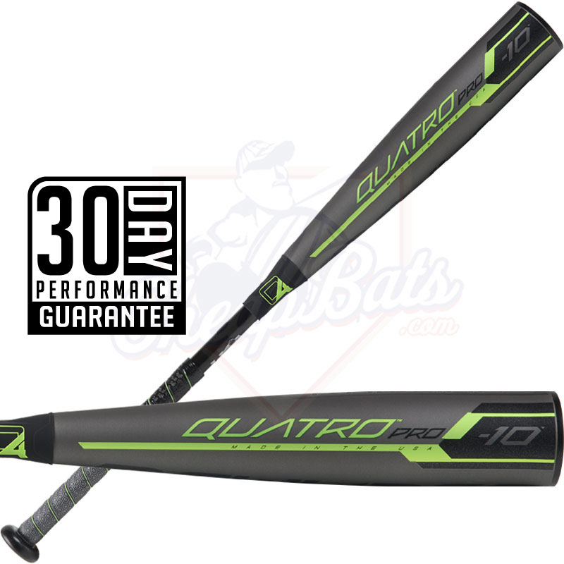 2019 Rawlings Quatro Pro Youth USA Baseball Bat -10oz US9Q10