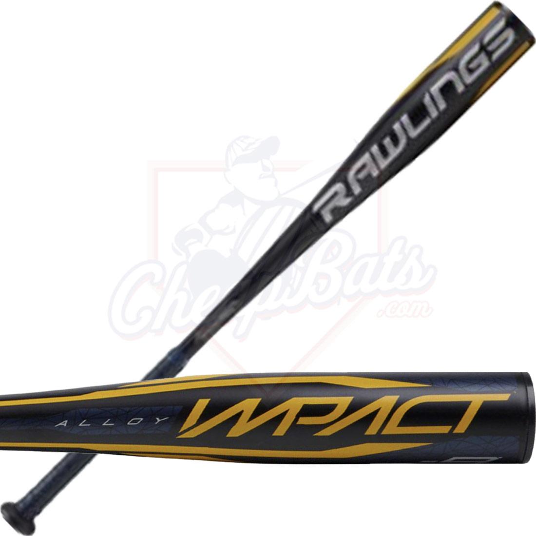 2020 Rawlings Impact Youth USA Baseball Bat -9oz USZI9