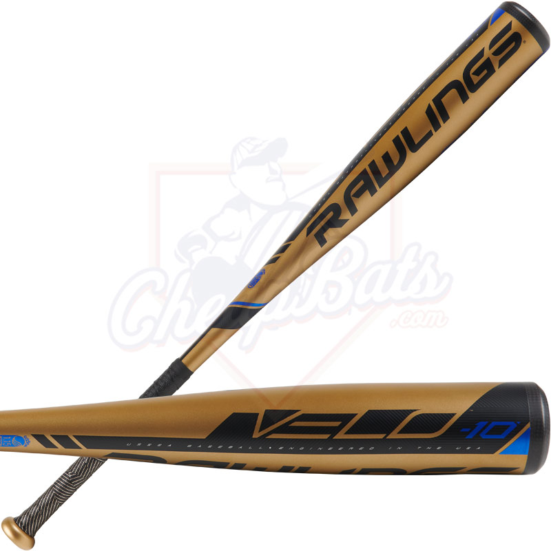 2019 Rawlings Velo Youth USSSA Baseball Bat -10oz UT9V10