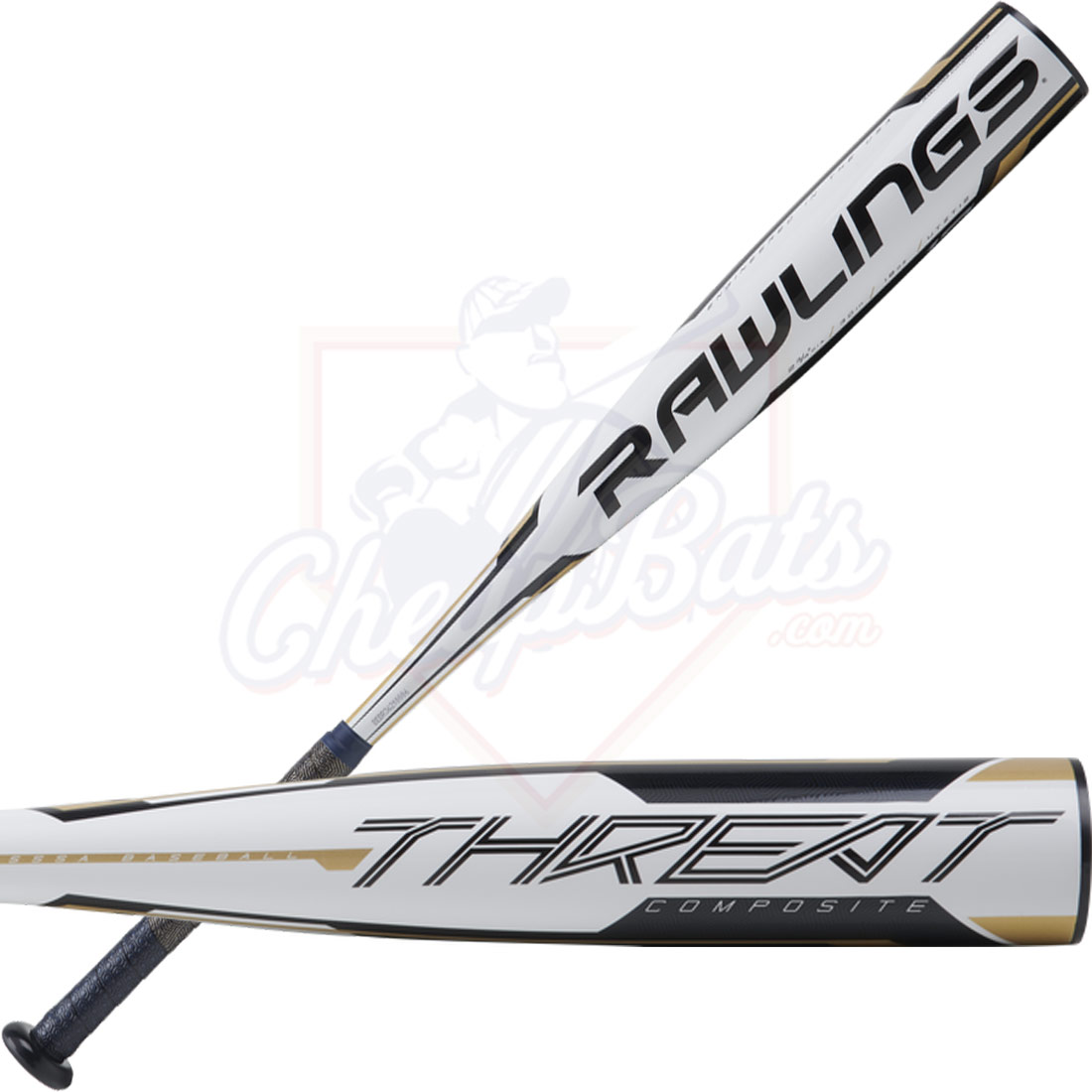 2020 Rawlings Threat Youth USSSA Baseball Bat -12oz UTZT12