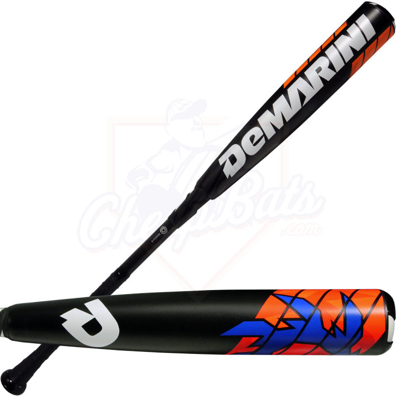 2016 DeMarini VOODOO RAW Youth Big Barrel Baseball Bat -5oz WTDXVD5-16