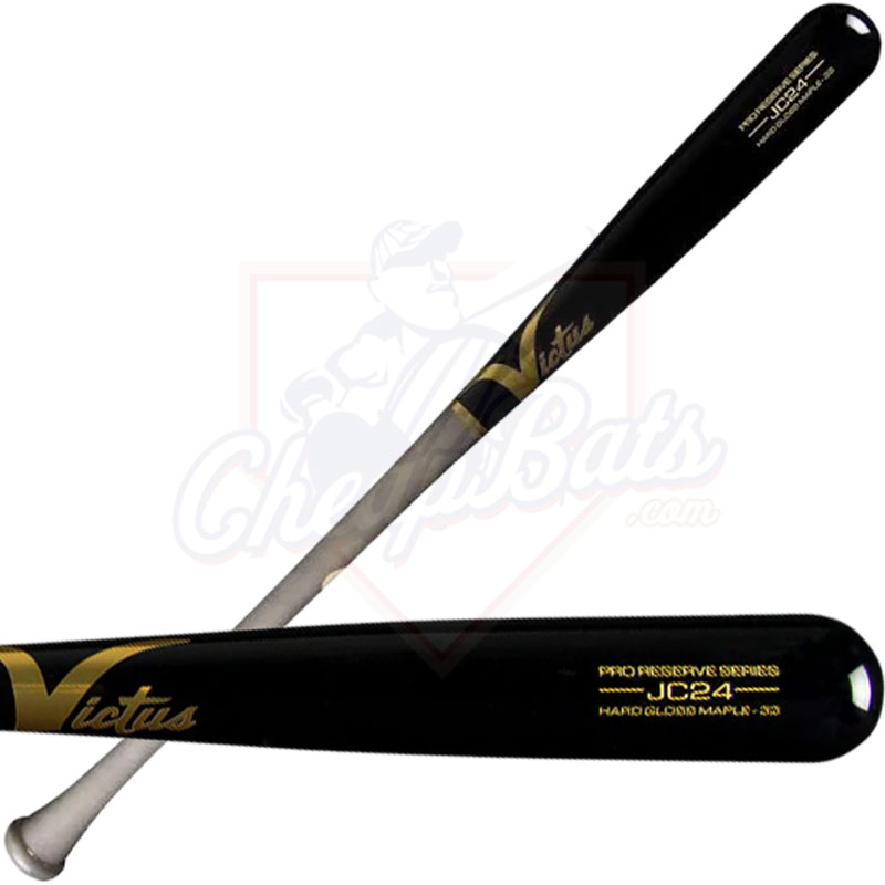 Victus JC24 Pro Reserve Maple Wood Baseball Bat VRWMJC24-GY/BK