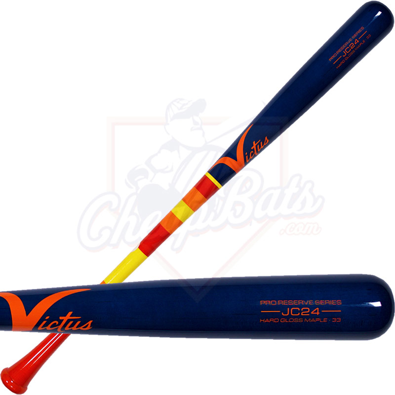 Victus JC24 Pro Reserve Maple Wood Baseball Bat VRWMJC24-OR/NB