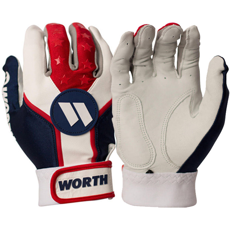 Worth Team Batting Gloves (Adult Pair) WBATGL