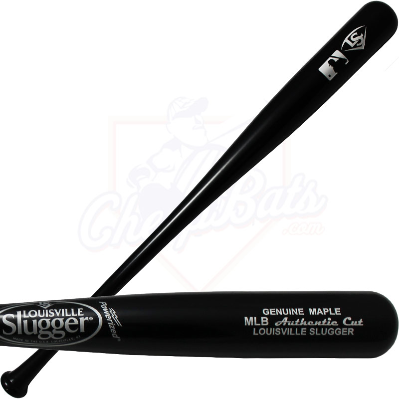 Louisville Slugger MLB Authentic Cut Maple Wood Baseball Bat WBCMMLB-BG
