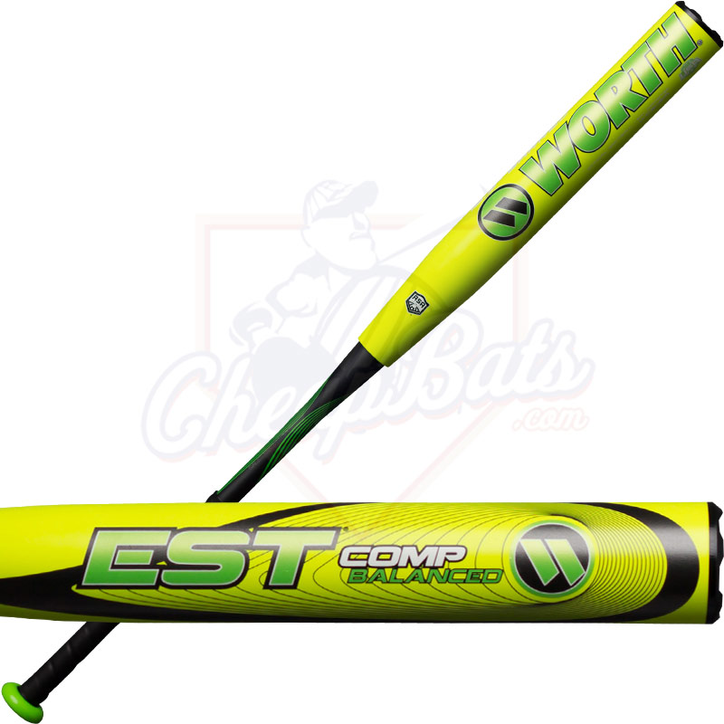 2018 Worth EST Comp Slowpitch Softball Bat Balanced ASA WCE12A