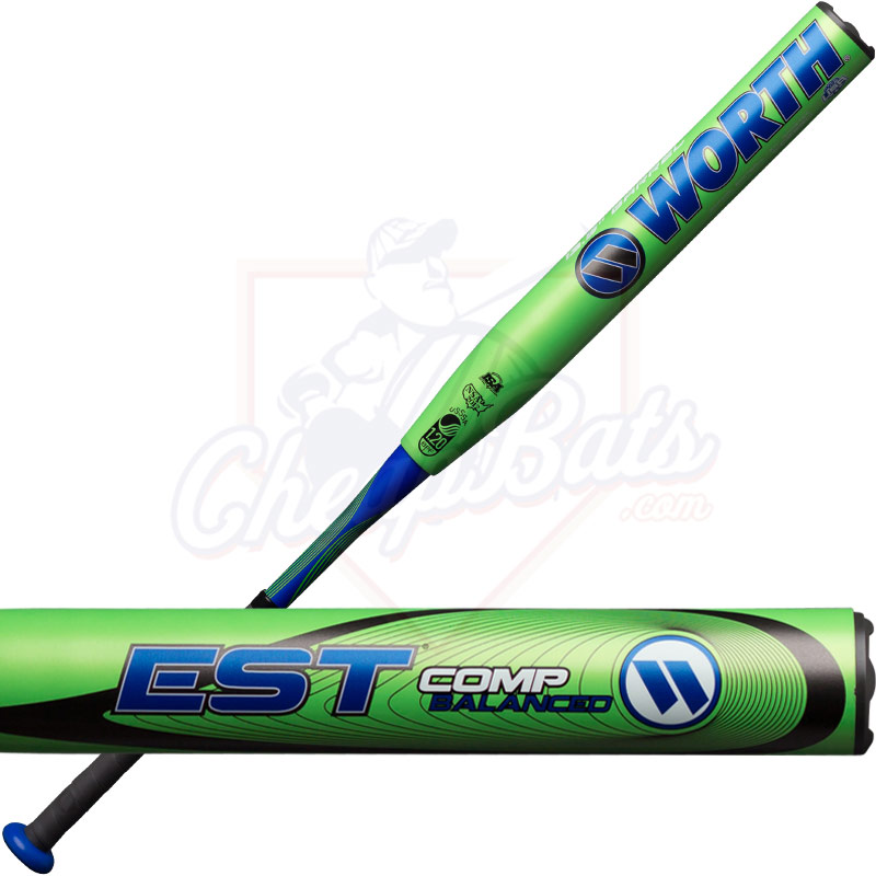 2018 Worth EST Comp Slowpitch Softball Bat Balanced USSSA WCESBU