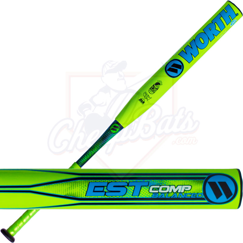 2017 Worth EST Comp Slowpitch Softball Bat Balanced USSSA WESTBU