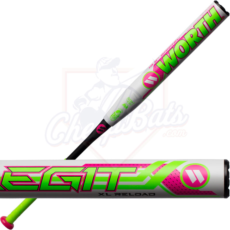 2020 Worth Legit XL Watermelon Slowpitch Softball Bat Reload USSSA WMELON
