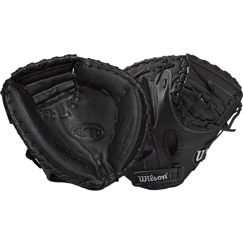 "Wilson A360 Youth Baseball Catcher\'s Mitt 31.5"" WTA03RB17CM315"