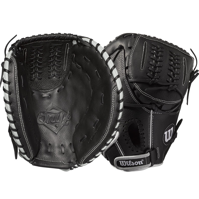 "Wilson Onyx Fastpitch Softball Catcher\'s Mitt 33"" WTA12RF1733"
