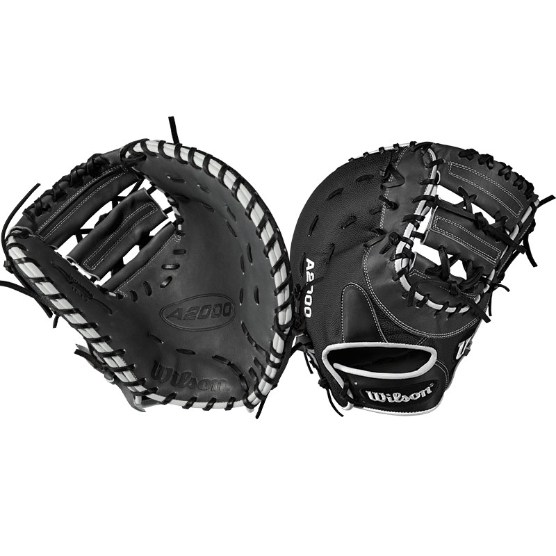 "Wilson A2000 SuperSkin Baseball First Base Mitt 12.5"" WTA20RB171617SS"