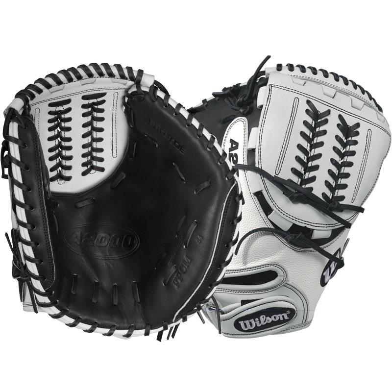 Wilson A2000 SuperSkin Fastpitch Softball Catcher's Mitt ...