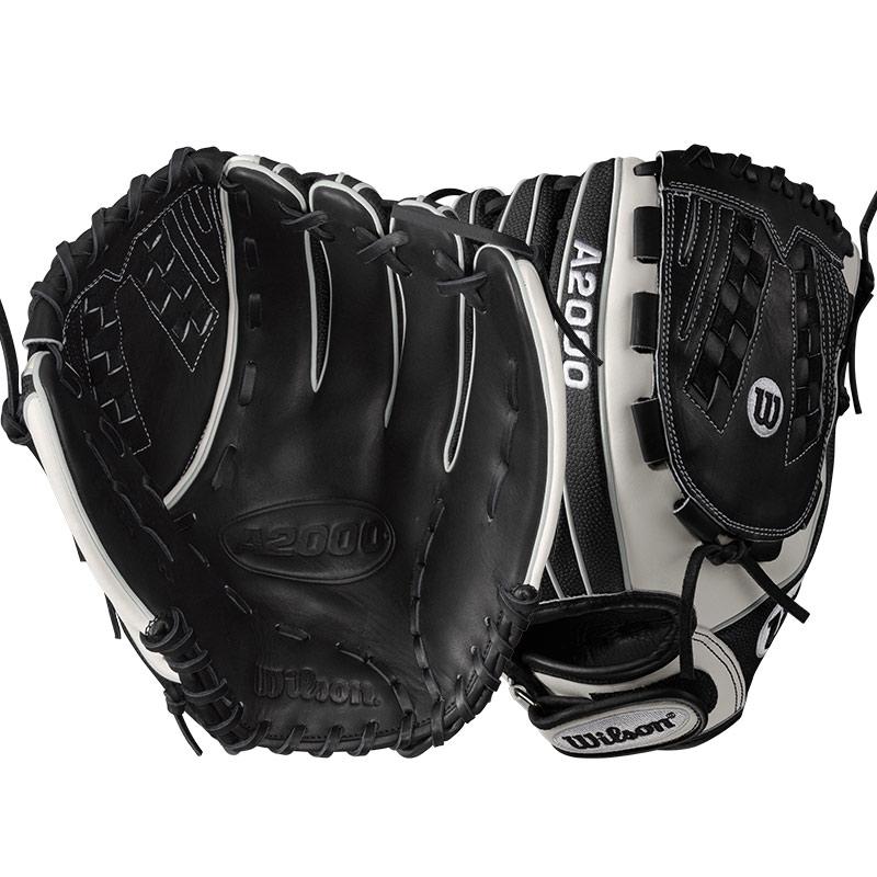 Wilson A2000 SuperSkin Fastpitch Softball Glove 125 WTA20RF17V125SS