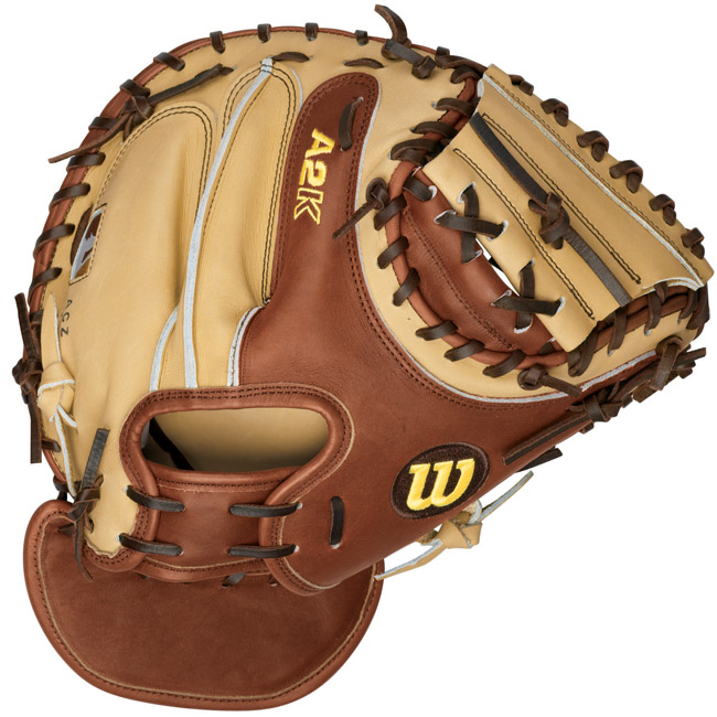 CHEAPBATS.COM : Wilson A2K Catchers Mitt PUDGE-W 32.5 ...