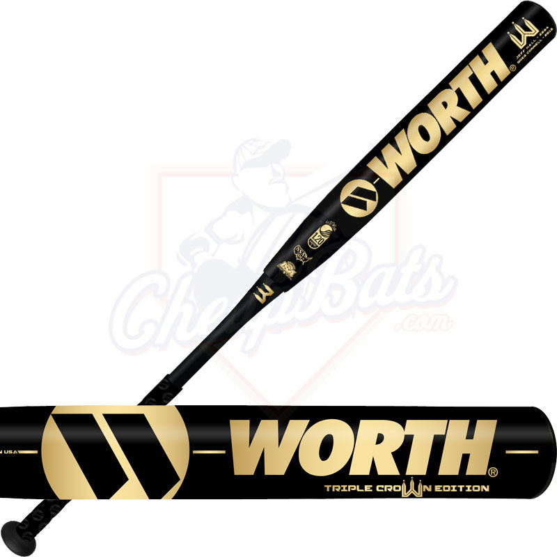 2017 Worth Triple Crown XL Slowpitch Softball Bat USSSA Reload WTCSMU