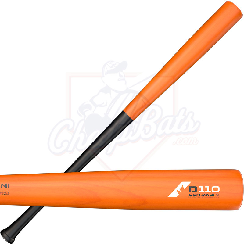 DeMarini D110 Pro Composite Maple Wood BBCOR Baseball Bat -3oz WTDX110BO18