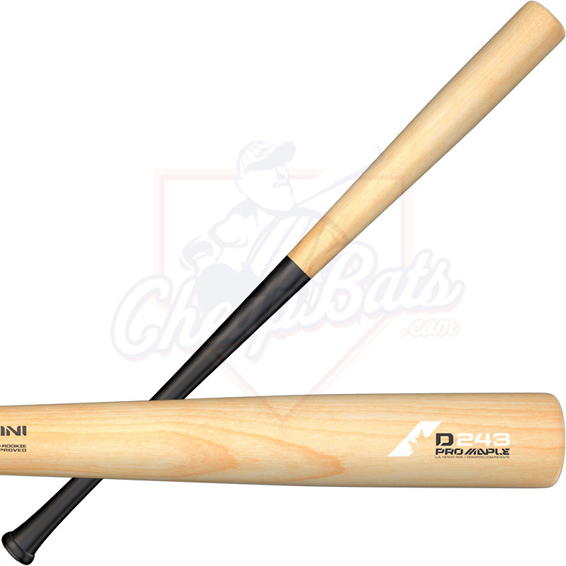 DeMarini D243 Pro Composite Maple Wood BBCOR Baseball Bat -3oz WTDX243BN18