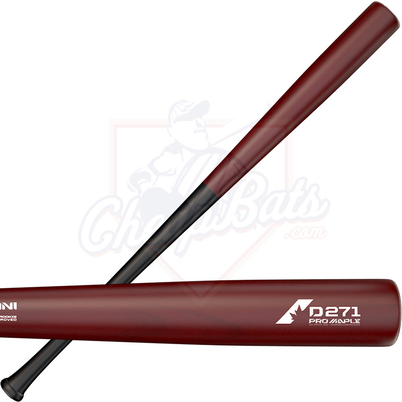 DeMarini D271 Pro Composite Maple Wood BBCOR Baseball Bat -3oz WTDX271BW18