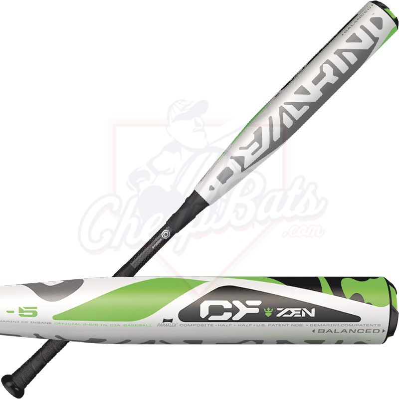 2017 DeMarini CF Zen Youth Big Barrel Baseball Bat -5oz WTDXCB5-17