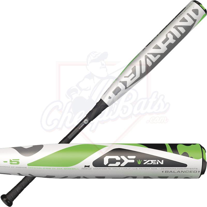 2017 DeMarini CF Zen Youth Big Barrel Baseball Bat -5oz WTDXCB5-17 d640edeb9f80