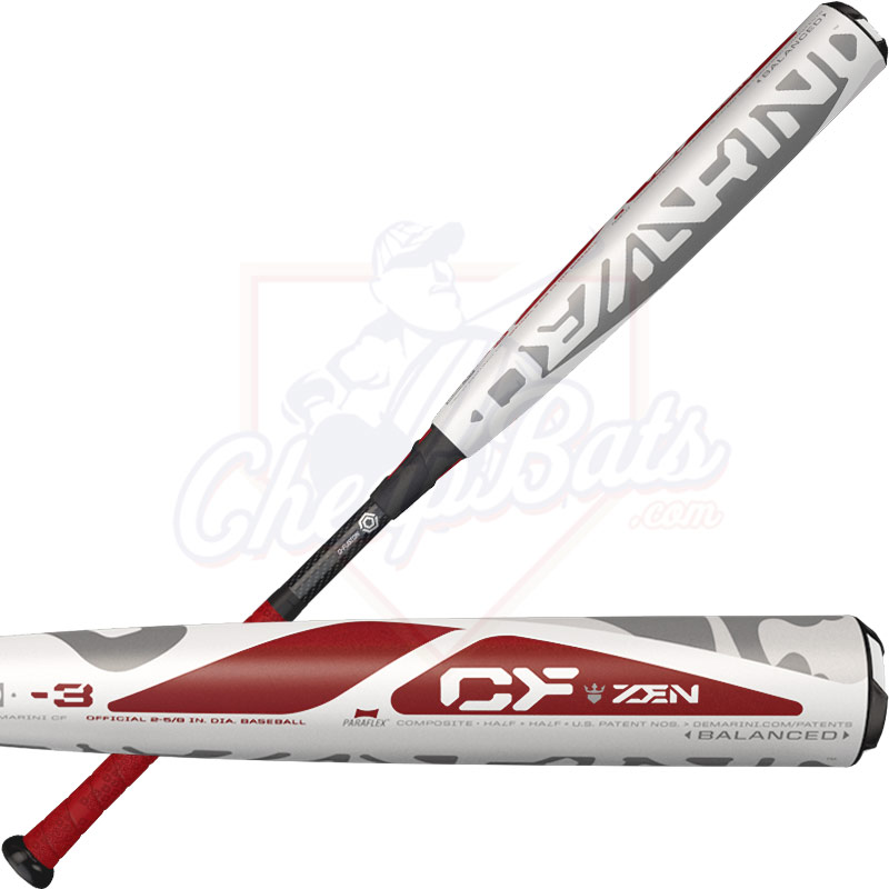 2017 DeMarini CF Zen BBCOR Baseball Bat Balanced -3oz ...