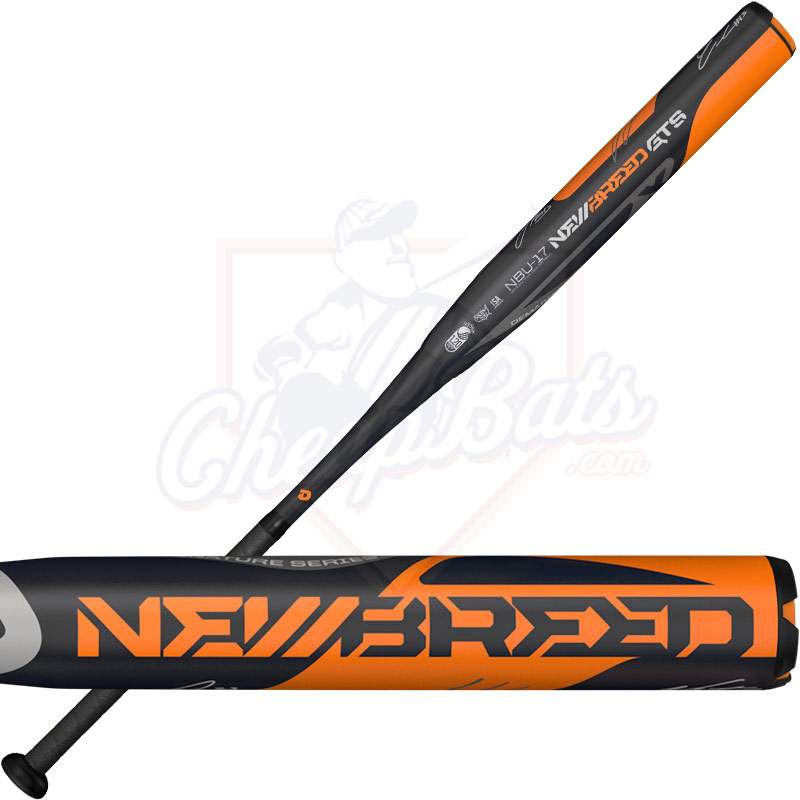 2017 DeMarini Newbreed GTS Slowpitch Softball Bat USSSA End Loaded WTDXNBU-17