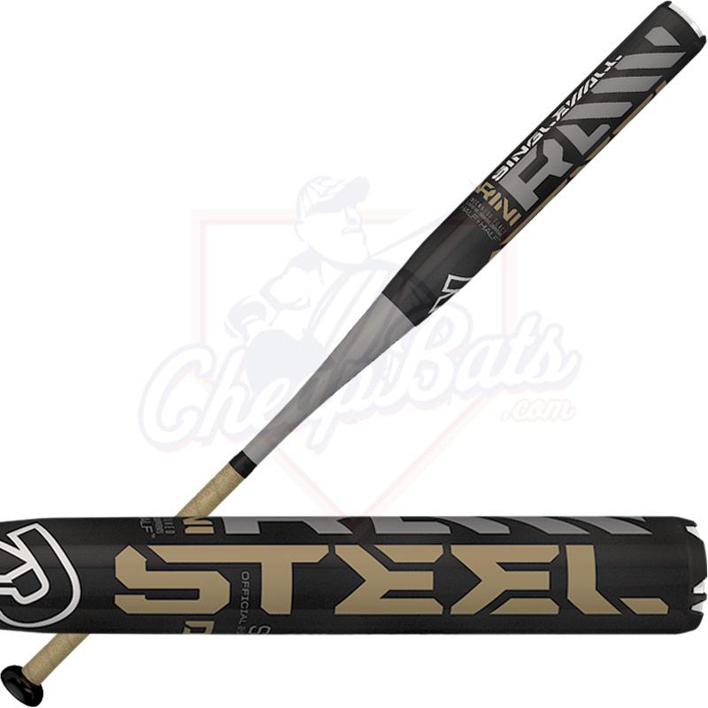 2016 DeMarini Raw Steel Slowpitch Softball Bat ASA USSSA End Loaded  WTDXSTL-16