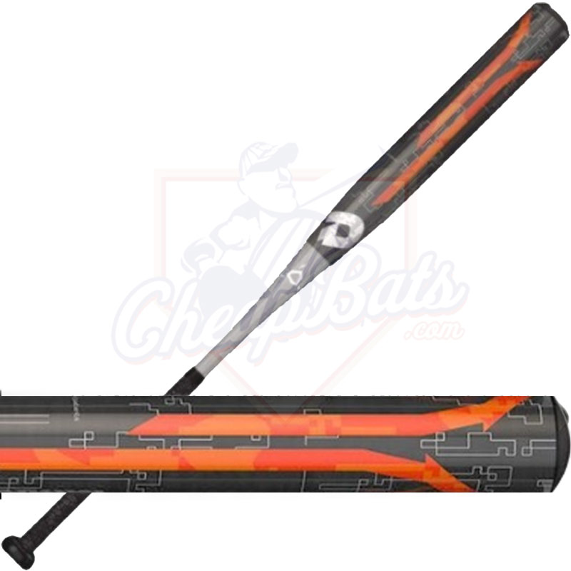 DeMarini Steel Slowpitch Softball Bat End Loaded ASA USSSA WTDXSTL-18