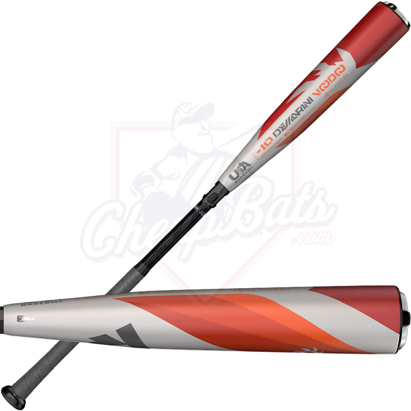 2018 DeMarini Voodoo Youth USA Baseball Bat -10oz WTDXUD2-18